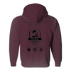 Be His Beard Oil Hoodie. Black Beard Brigade