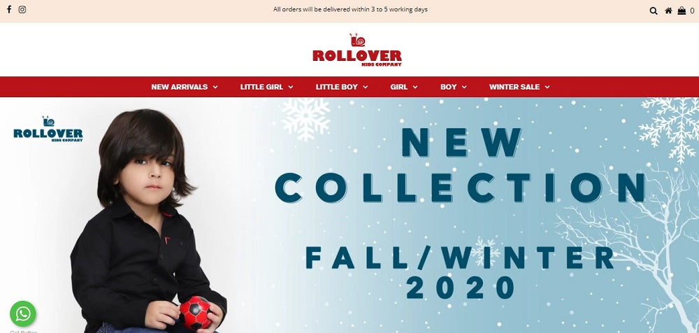 Rollover Kids collection