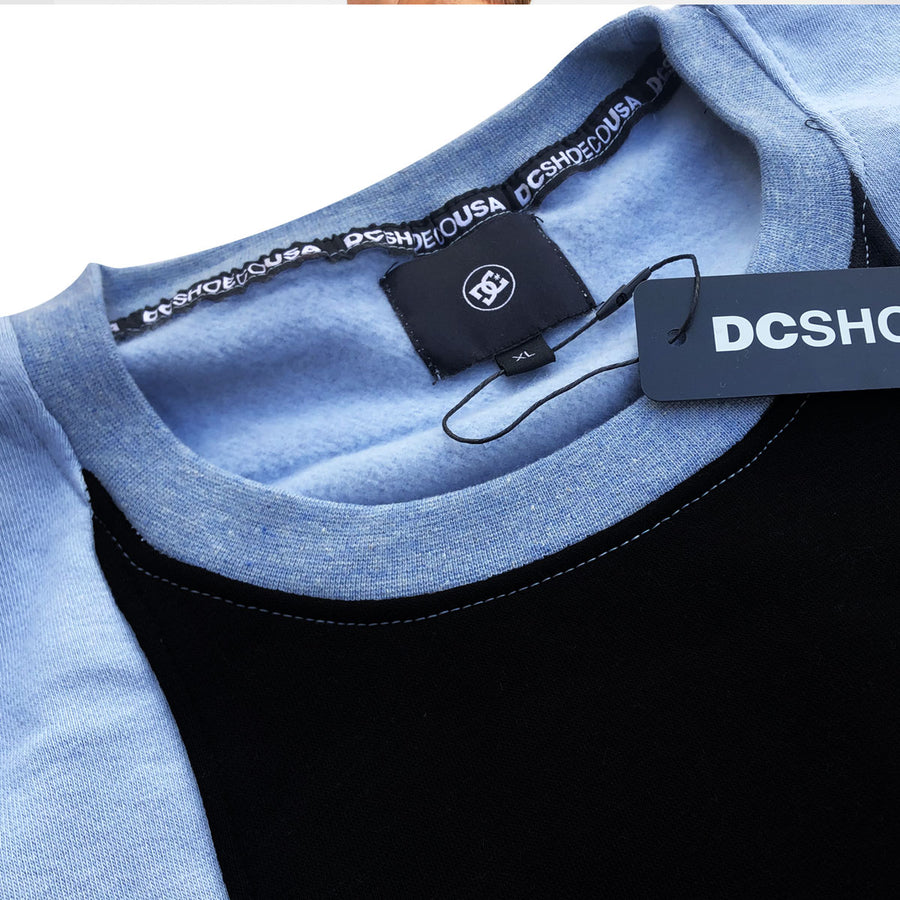 DCS USA BLUE & BLACK COMBO SWEAT SHIRT