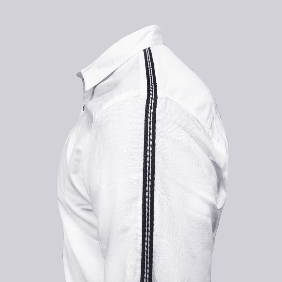 Hangree Designer White Casual Shirt