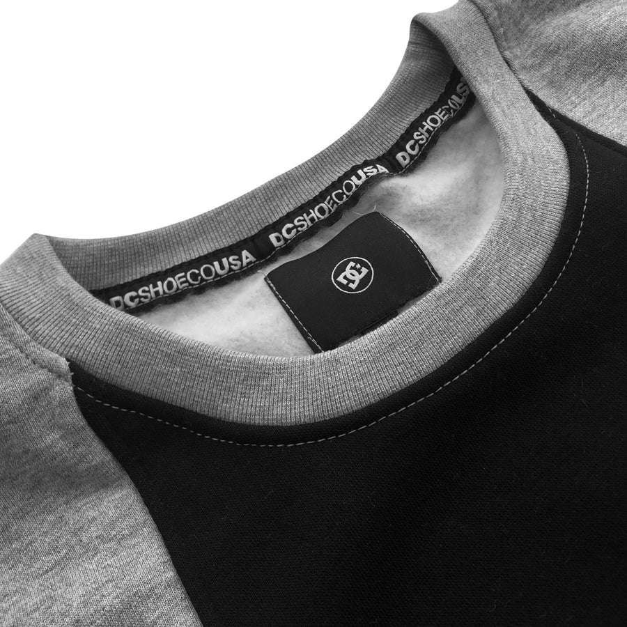 DCS USA Gray & Black Contrast Sweat Shirt