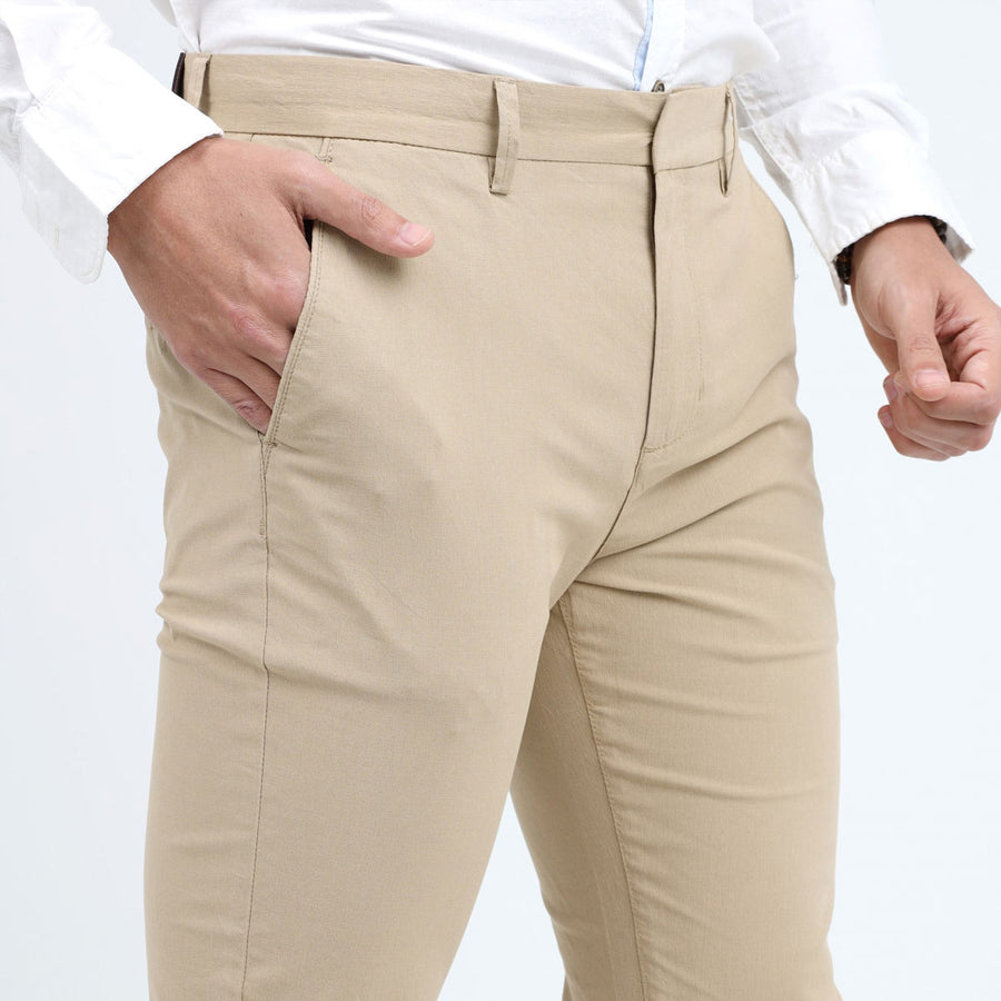 NW LOK Unique Badge Cotton Pant