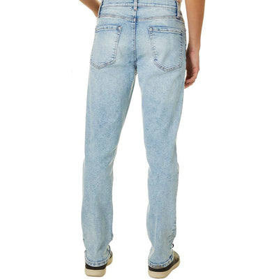 LZER Light Blue Wash Denim Pant
