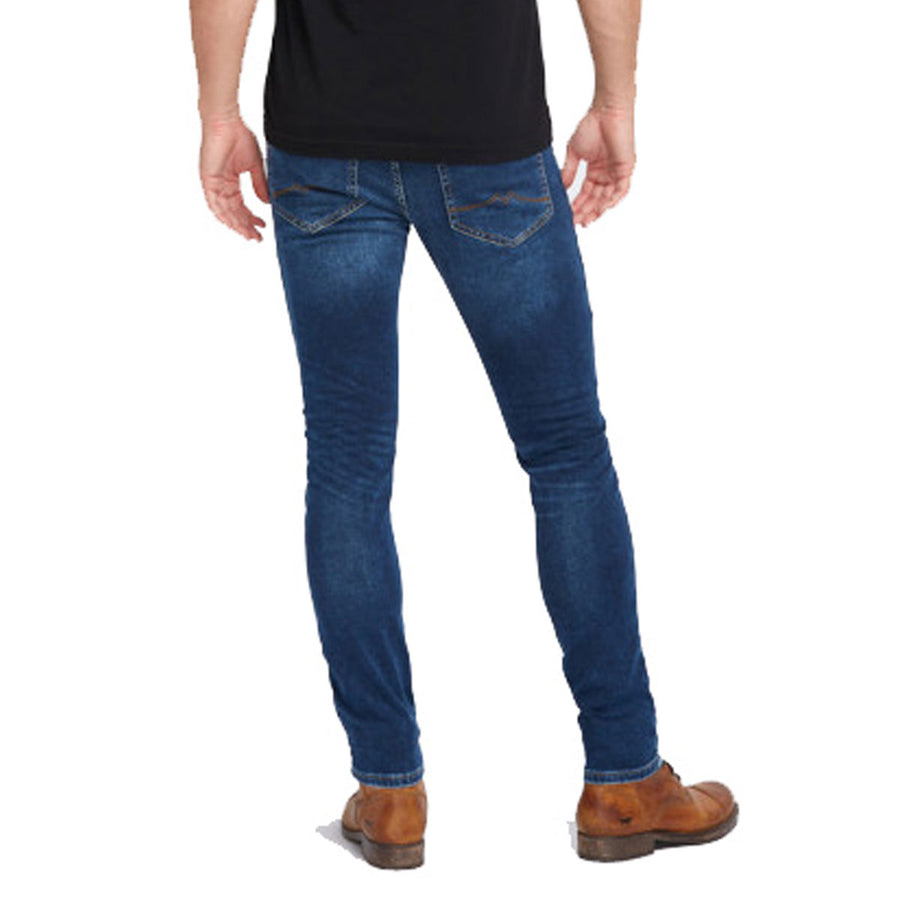Mustang Faded Blue Premium Denim Pant
