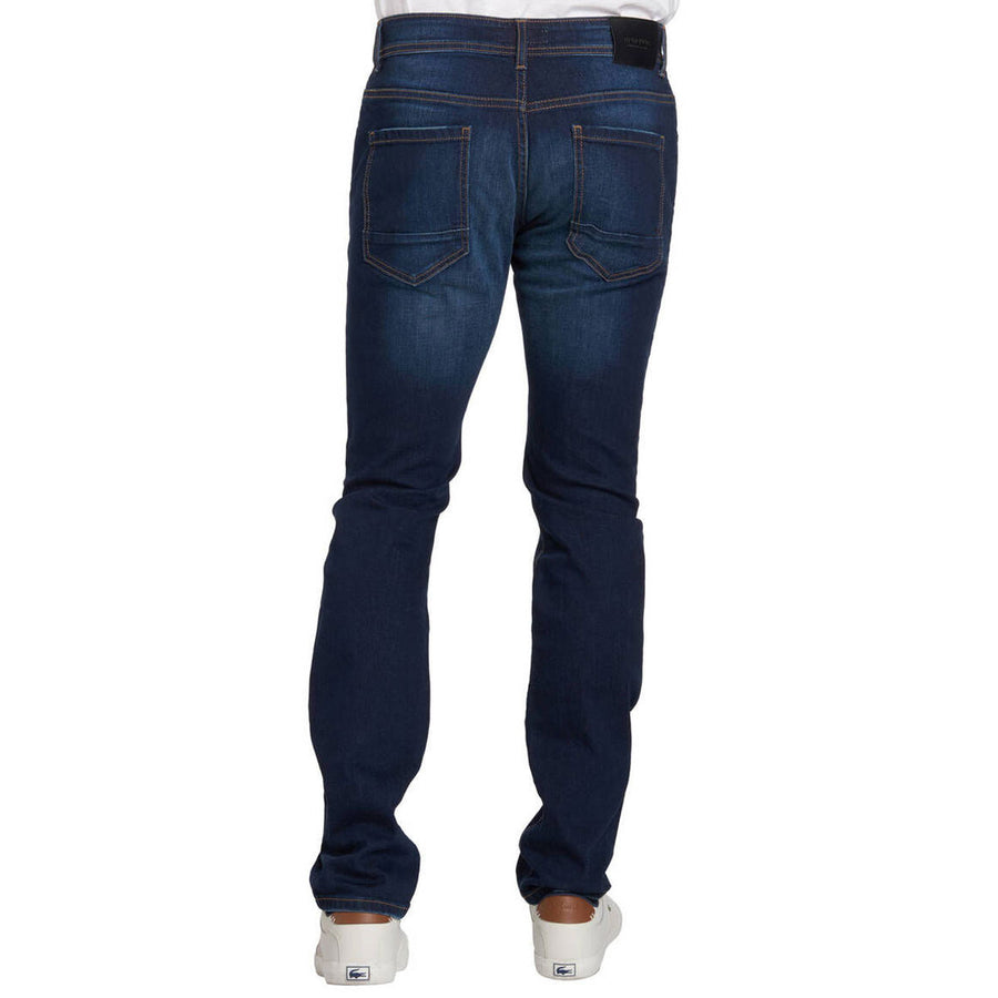 Master Blue Ribbed Denim Pant