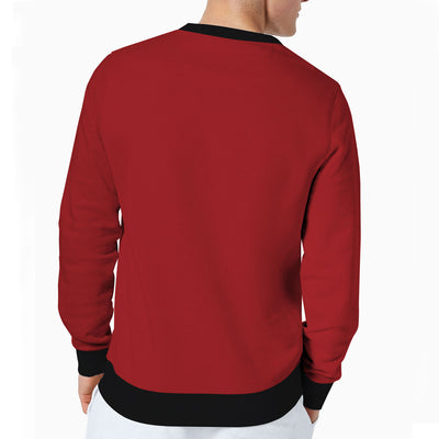 HLSTR RED FASHION FLEECE SWEAT SHIRT