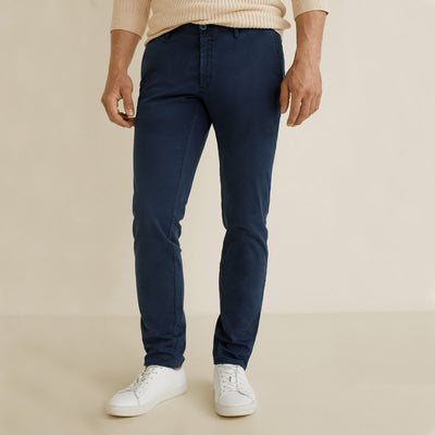 NW LOK Navy Original Cotton Pant