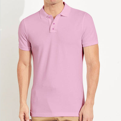 Smart Pink Polo T-Shirt