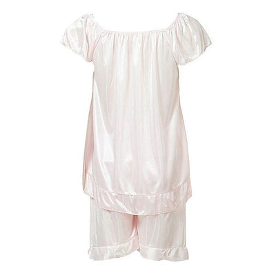 Espico Nylon Short Suit for Women Baby Pink