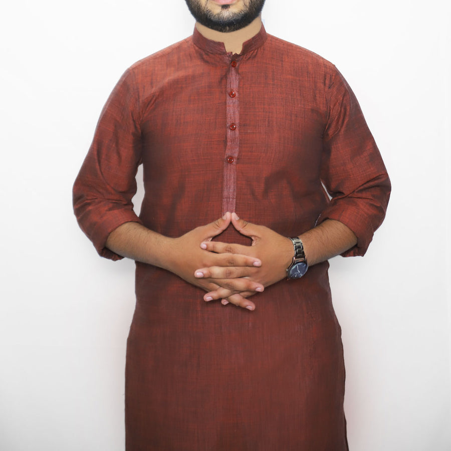 MENS ELEGANT REST COTTON KURTA