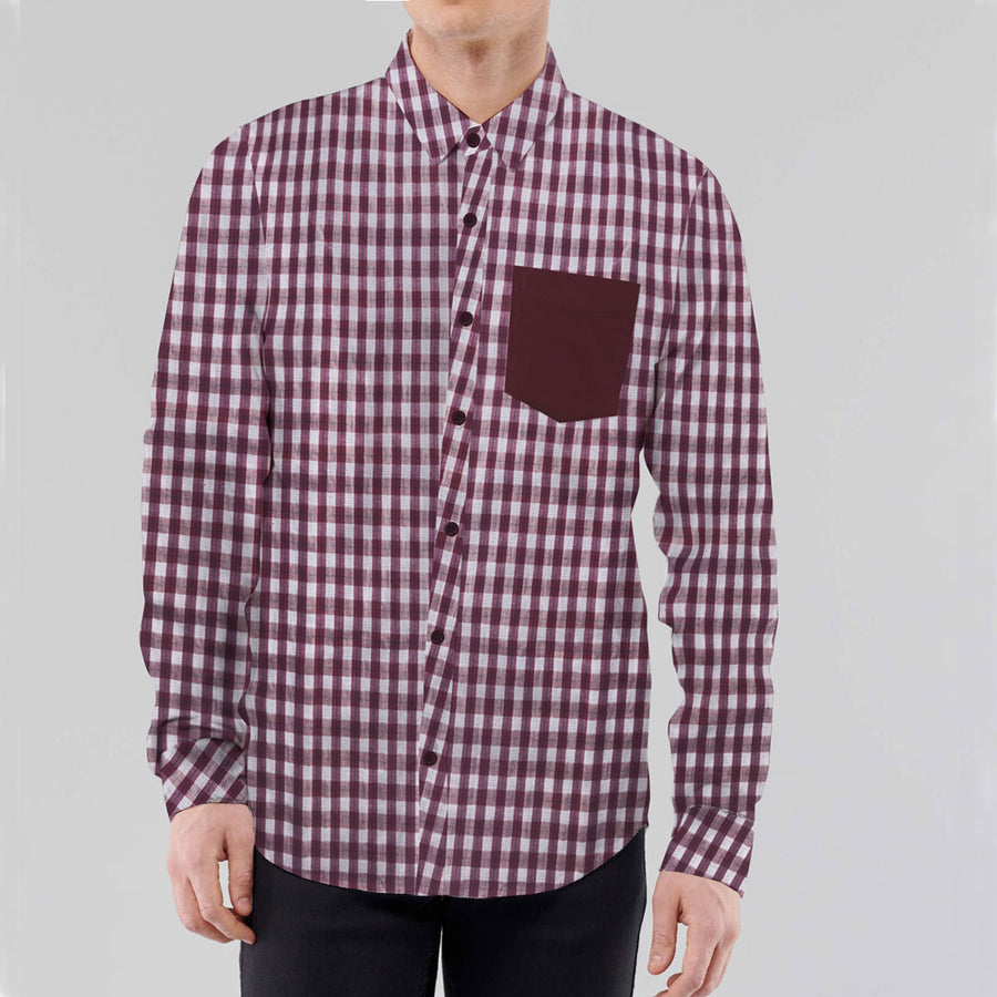 Stylish Contrast Fashion Casual Shirt