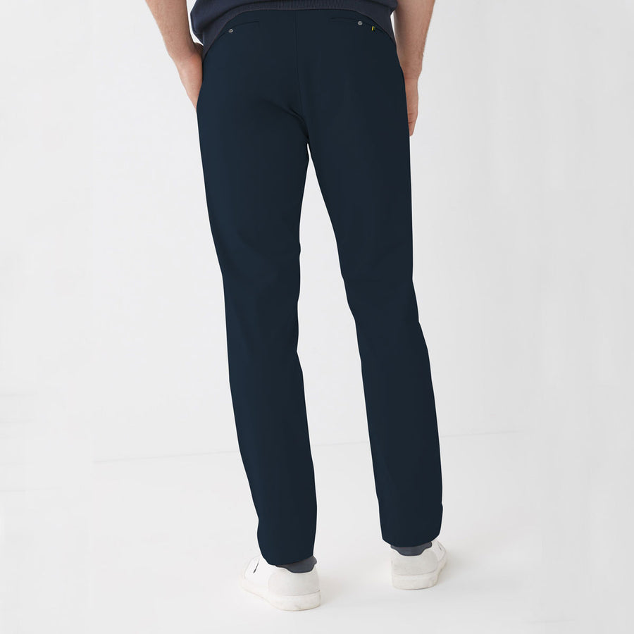 ZR MAN NAVY NARROW COTTON PANT