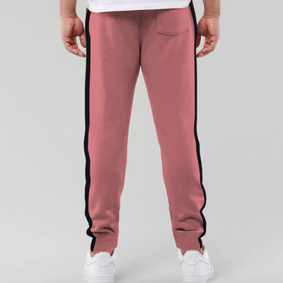 Designer Pink Panel Fashion Men Trouser