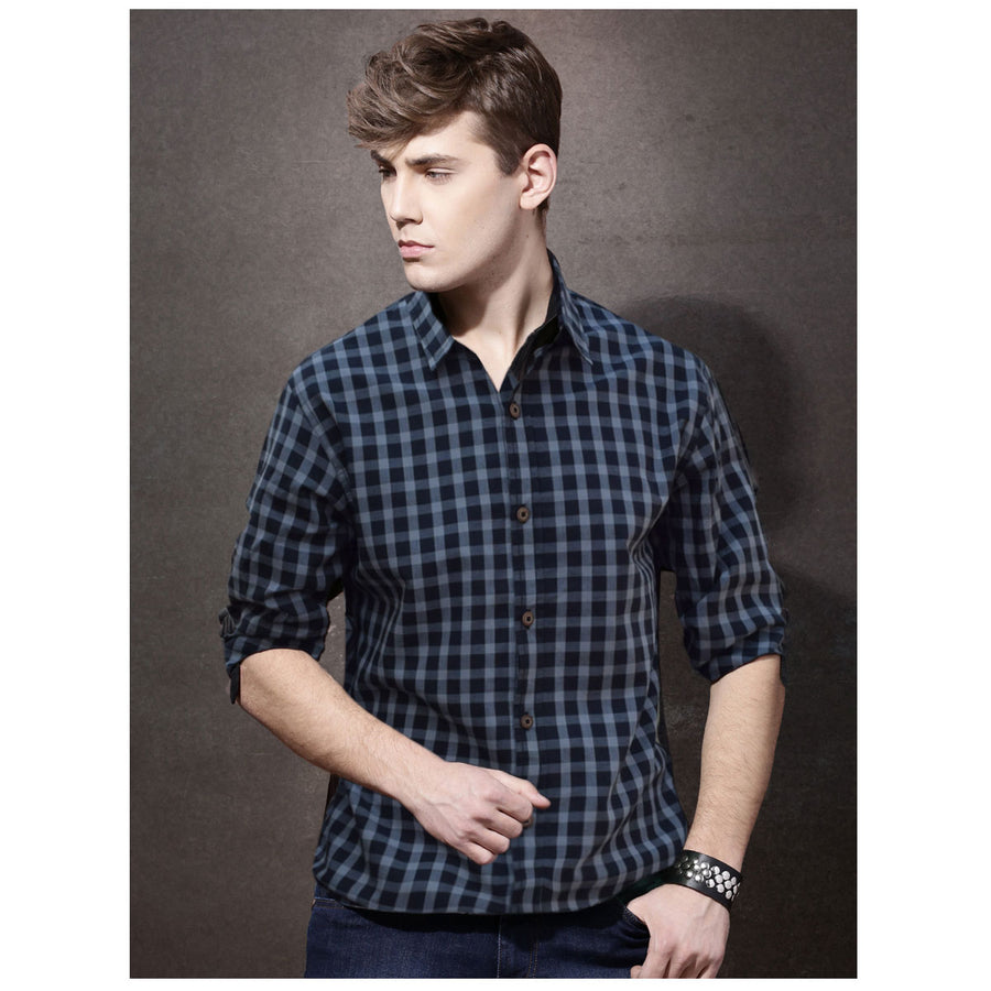 Stylish Black & White Casual Shirt