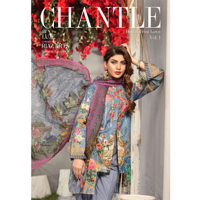 Chantle By Riaz Arts Lawn 2019