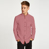 Bright Pink Casual Shirt