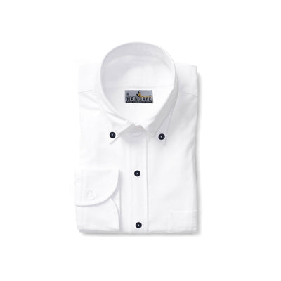 Hangree White Casual Shirt