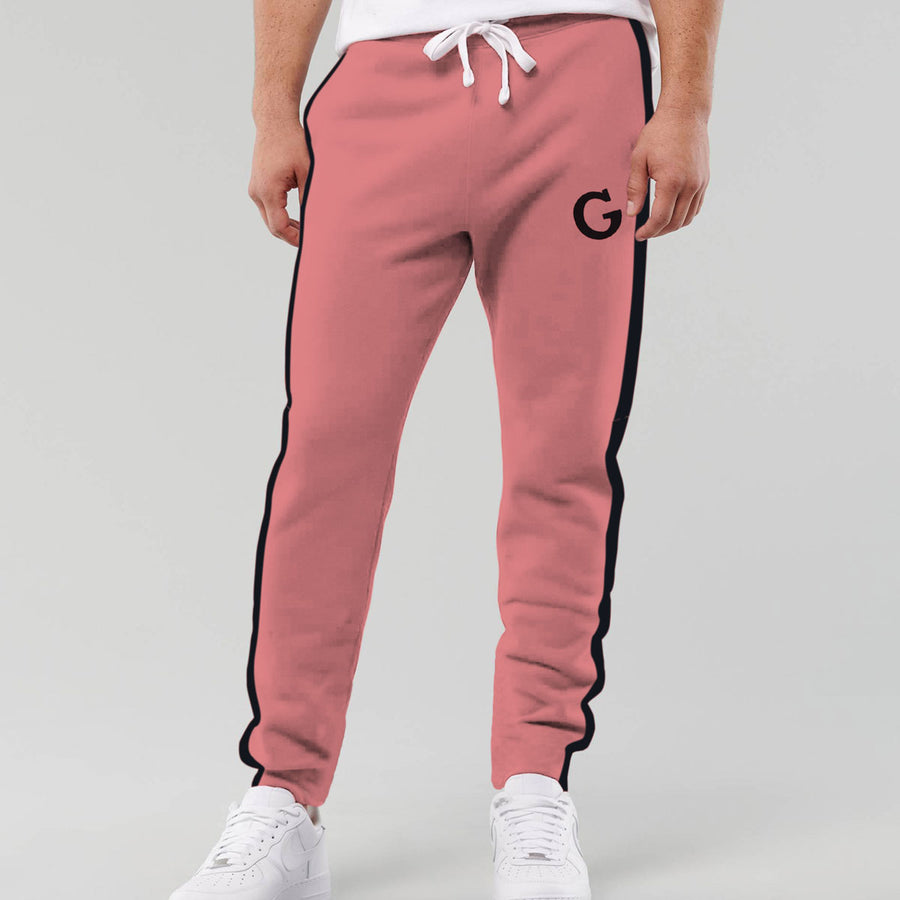 Designer Pink Panel Fashion Trouser