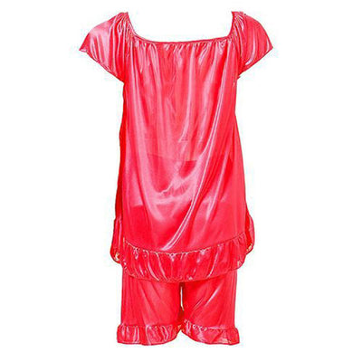 Espico Hot Nylon Short Suit for Women Hot Red