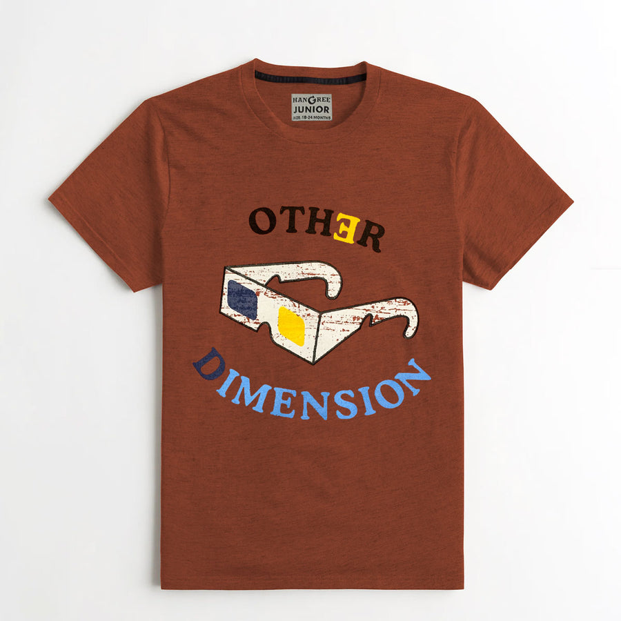 Boy's Unique Printed Tee Shirt