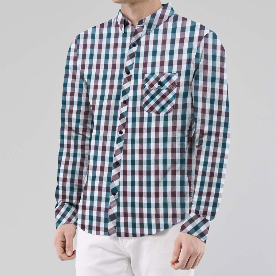 Exclusive Check Stylish Casual Shirt