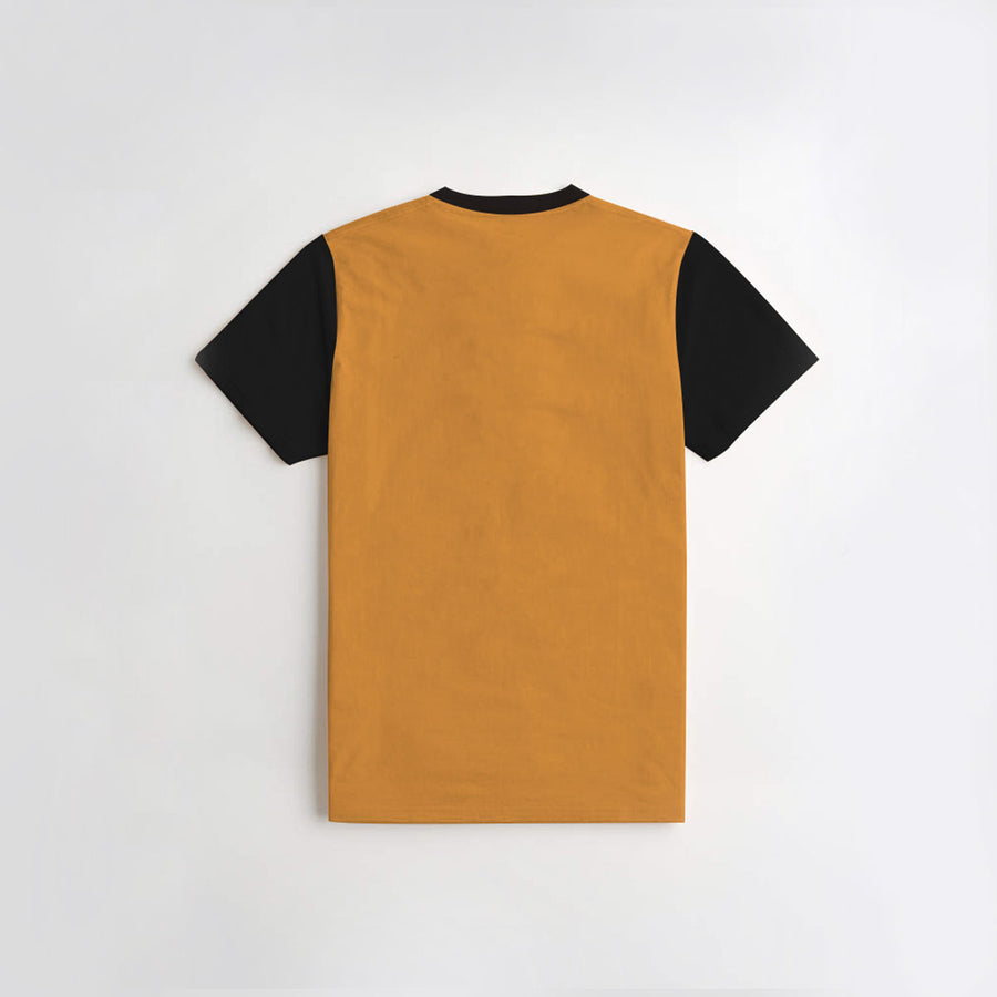 Kid's Yellow Contrast Tee