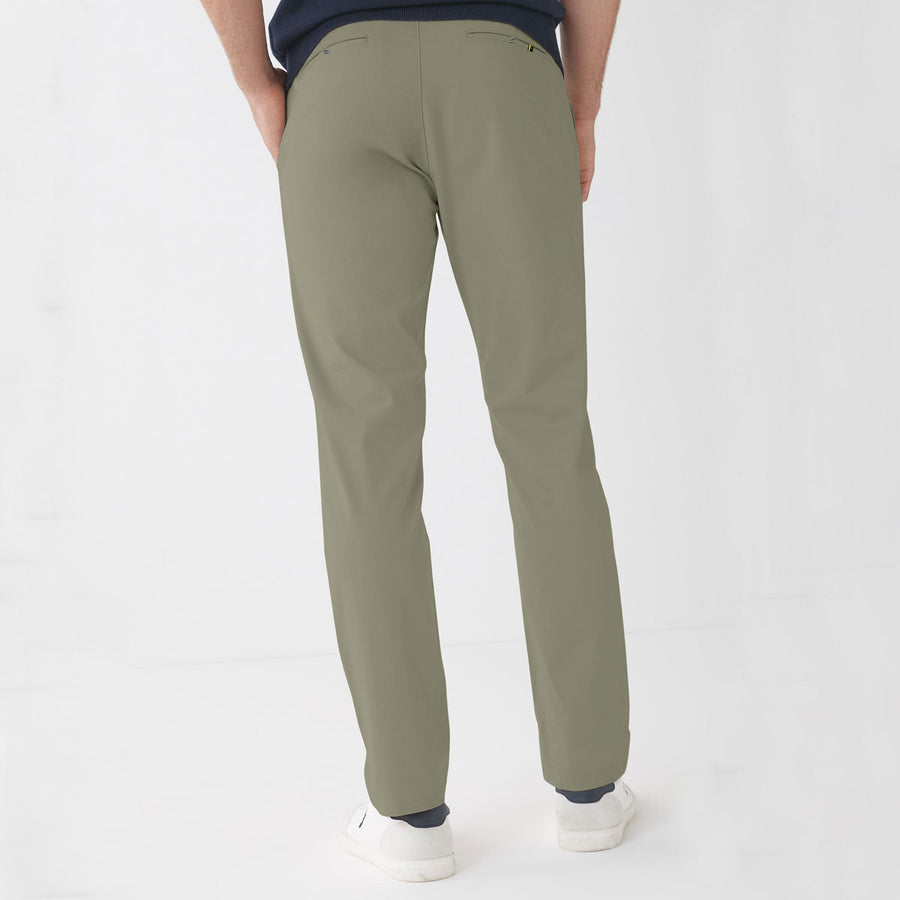 ZR MAN CAMOU GREEN NARROW COTTON PANT