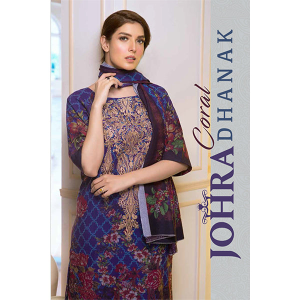 Johra Corel Dhanak Winter Collection