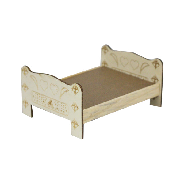 Wooden Little Bed Set