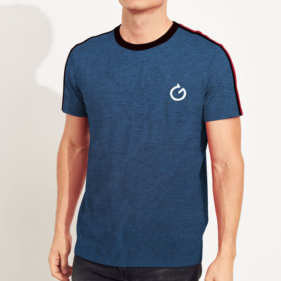 Elegant Blue Stylish T-Shirt