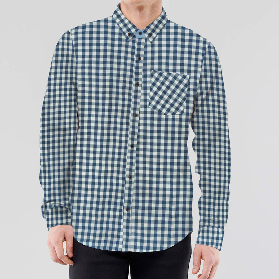 Hangree Unique Check Casual Shirt