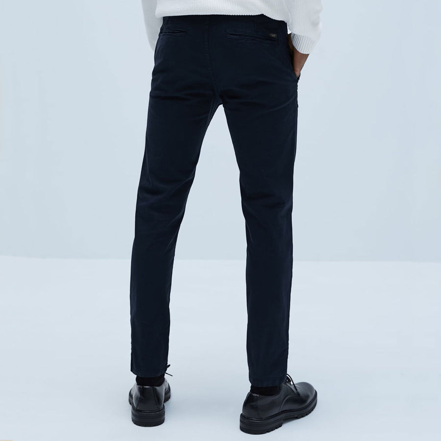 MSTANG NAVY ORIGINAL COTTON PANT