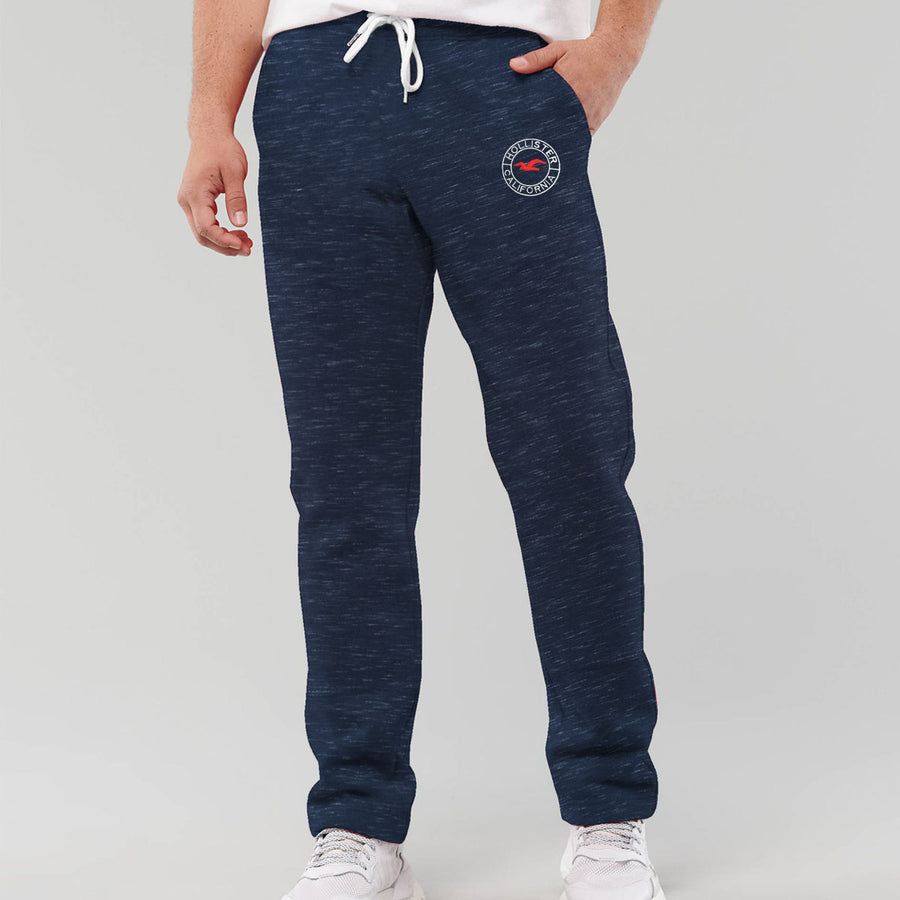 HLSTR Textured Blue Summer Trouser
