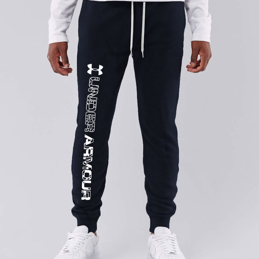 UA Men Close Bottom Dark Navy Jogger