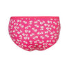 Espico Pack of 3 Floral Panties For Women Pink, Black, Yellow