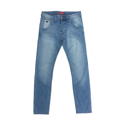 GUESS FADED LIGHT BLUE DENIM PANTS