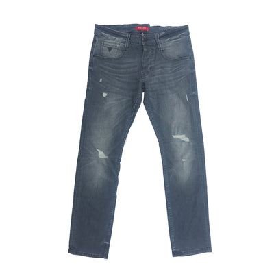 GUESS ROUGH STYLE GREY DENIM PANT For Men