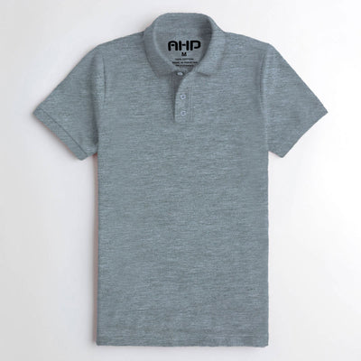 Decent Gray Polo Shirt for Men
