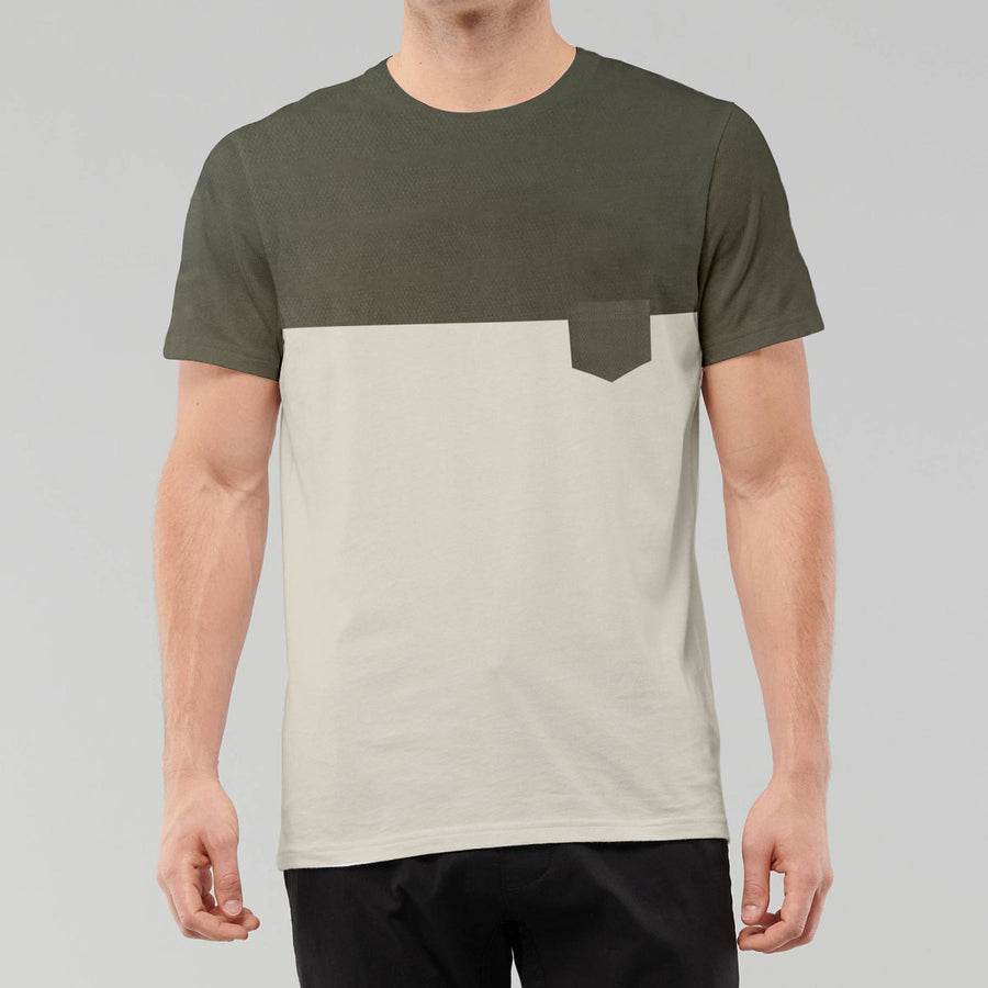 Zara Skin and Green Classical T-shirt