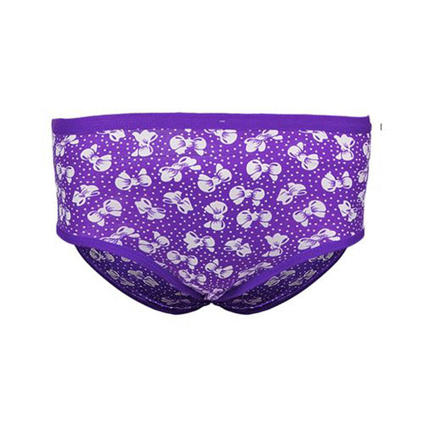 Espico Pack of 3 Floral Panties For Women Red, Purple, Peach