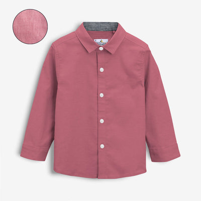 Boy's Supper Solid Casual Shirt