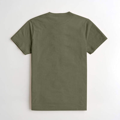 J & J Yellow Green Signature Printed Tee