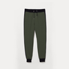 Women Olive Green Sweat Pant