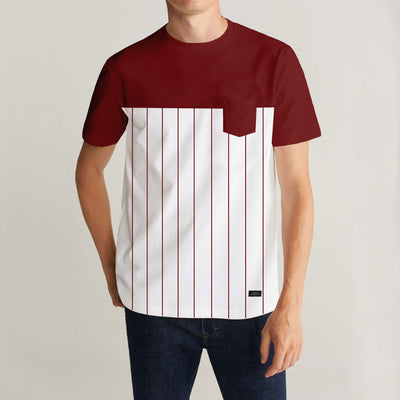 ZRA Red White Combo T-Shirt