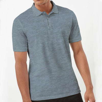 Decent Gray Polo T-Shirt