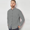 Unique Gray Casual Shirt