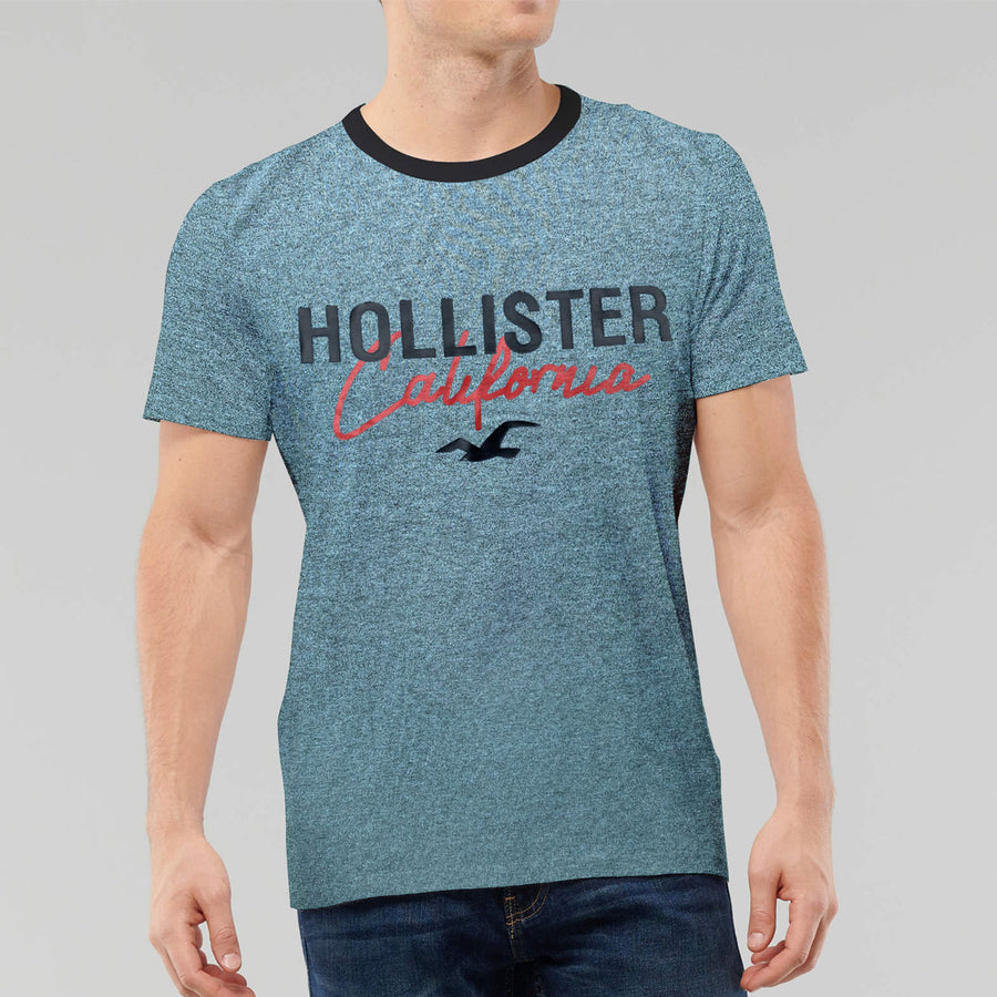 HLSTR Textured Signature Printed Tee