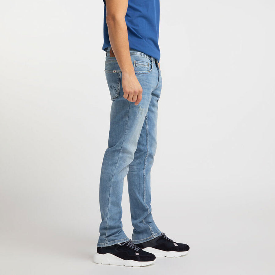 Mutang Mid Wash Blue Stretch Denim Pant