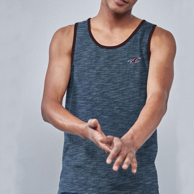 HLSTR STYLISH TEXTURED VEST for Men