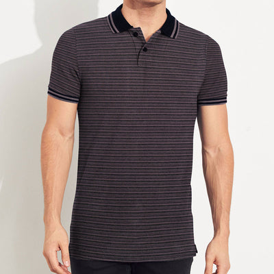 YARN DYED TIPPING EXECUTIVE POLO SHIRT